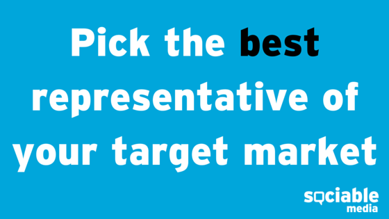 pick best representative blog post