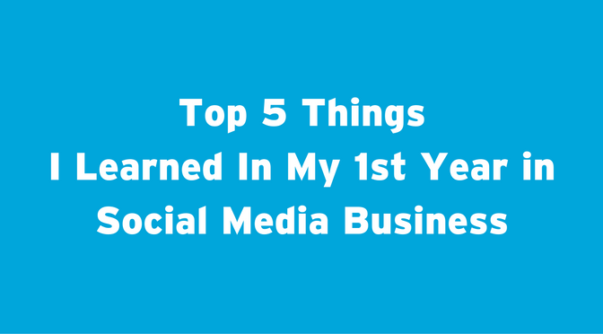 Sociable Media Business Top 5